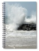 The Ocean's Strength Spiral Notebook