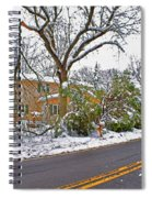 Storm Damage 1  Spiral Notebook