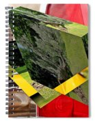 Storm Damage And Tail Light As Art Spiral Notebook