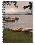 Storm Ends Fun Spiral Notebook