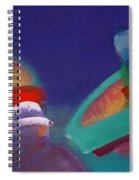 Storm Horizon Spiral Notebook