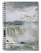 Storm In Niagara Falls  Spiral Notebook