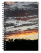 Storm Madness Spiral Notebook