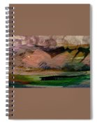 Storm On The Mountain Spiral Notebook