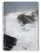 Storm On The Oregon Coast 2 Spiral Notebook