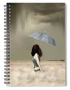 Storm On The Plains Spiral Notebook