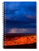 Storm On The Way Spiral Notebook