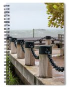 Storm Over Charleston Spiral Notebook