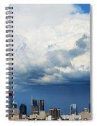 Storm Over Nashville Spiral Notebook