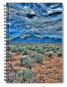 Storm Over Taos Mountain Spiral Notebook