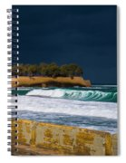 Storm Over The Aegean Spiral Notebook