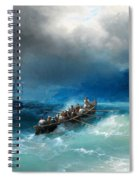 Storm Over The Black Sea Spiral Notebook