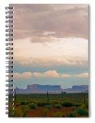 Storm Pass Spiral Notebook