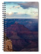 Storm Passes The Grand Canyon Spiral Notebook