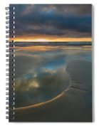Storm Pool Spiral Notebook