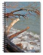 Storm Ravaged Spiral Notebook