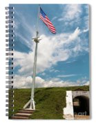 Storm The Hill Spiral Notebook