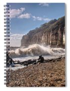 Storm Tide Cliffs End Spiral Notebook