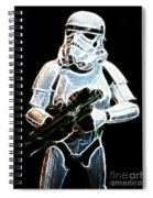 Storm Trooper Spiral Notebook