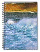Storm Wave Spiral Notebook