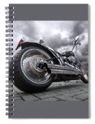 Storming Harley Spiral Notebook