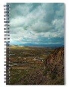 Storms And Cliffs Spiral Notebook