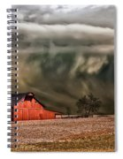 Storm's Coming Spiral Notebook