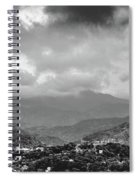 Storms In Contrast Spiral Notebook
