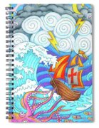 Storms Of Life Spiral Notebook