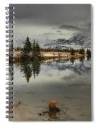 Storms Over Talbot Lake Spiral Notebook