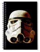 Stormtrooper 1 Weathered Spiral Notebook