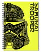 Stormtrooper Helmet - Yellow - Star Wars Art Spiral Notebook