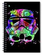 Stormtrooper Mask Rainbow 6 Spiral Notebook