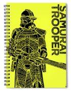 Stormtrooper - Yellow - Star Wars Art Spiral Notebook
