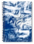 Stormy Abstract Spiral Notebook