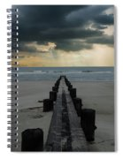 Stormy Atlantic Spiral Notebook