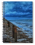 Stormy Backyard  Spiral Notebook
