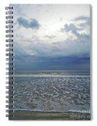 Stormy Beach Beauty Spiral Notebook