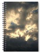 Stormy Clouds Spiral Notebook