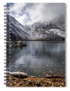 Stormy Convict Lake Spiral Notebook