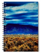 Stormy Day In Taos Spiral Notebook