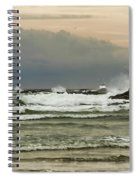 Stormy Fishing Spiral Notebook