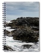 Stormy Giant's Causeway Spiral Notebook