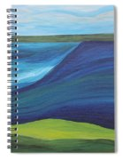 Stormy Lake Spiral Notebook