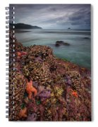 Stormy Life At Sea Spiral Notebook