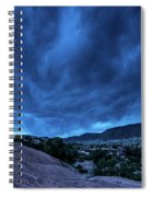 Stormy Night Sky Arches National Park - Utah Spiral Notebook