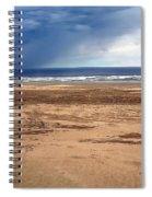 Stormy Nye Beach Spiral Notebook