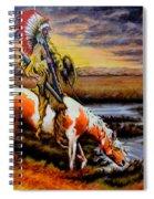 Stormy Prairie Spiral Notebook