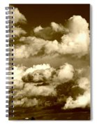 Stormy Skies In Socal Spiral Notebook