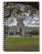 Stormy Skies Over The Citadel Spiral Notebook